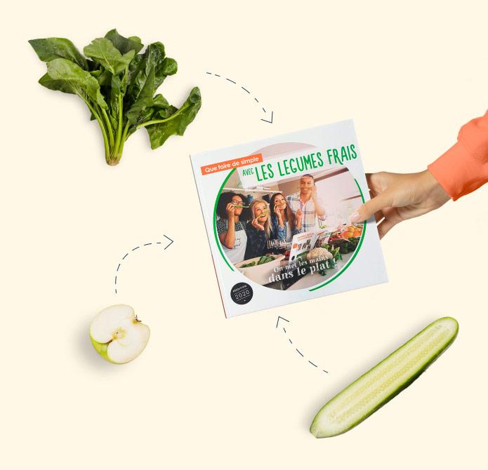 Liste des ingrédients des recettes du livre de cuisine