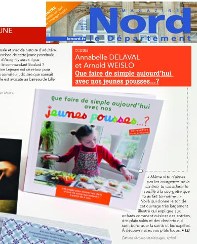 Magasine Nord - Recettes de cuisine enfant