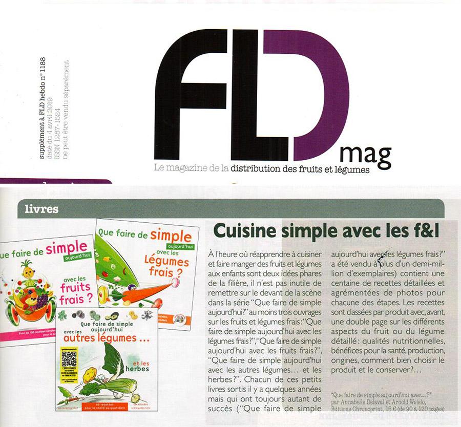 FLD Mag - cuisiner des légumes frais