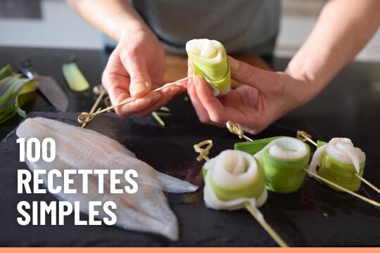 100 recettes de cuisine simples