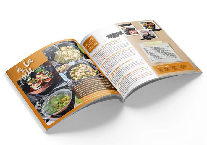 Livre de cuisine illustré et simple